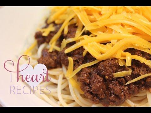 Cincinnati Chili Recipe – I Heart Recipes