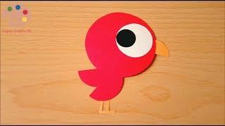 Cute Bird Craft