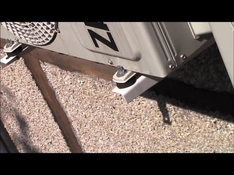 Вибрация и гул от наружного блока кондиционера