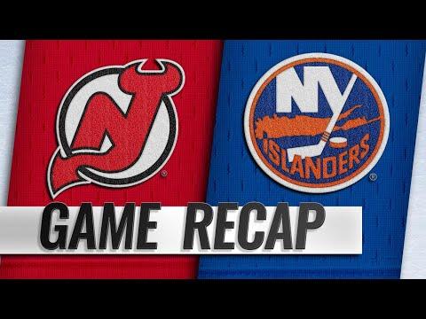 Lee scores two goals, lifts Islanders over Devils