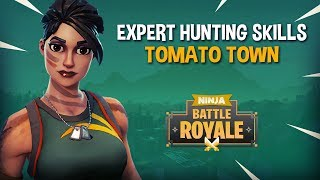 Expert Hunting Skills Tomato Town!! - Fortnite Battle Royale Gameplay - Ninja