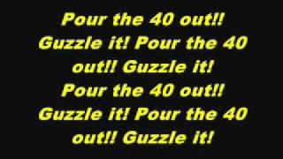 D12 40 Oz Lyrics