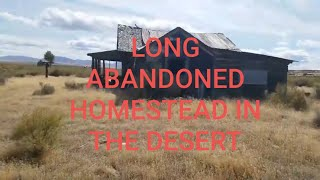 MAIL CALL AND AN ABANDONED HOMESTEAD IN BEOWAWE, NEVADA!