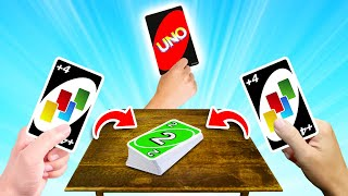 Playing As A TEAM Makes You UNBEATABLE! (Uno)
