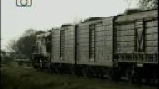 preview picture of video 'Tren de NCA saliendo de Las Parejas'