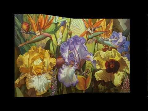 Όμορφα λουλούδια  ΕΙΡΗΝΗ ΚΑΡΠΙΚΙΩΤΗ  Εργα τεχνης - YouTube