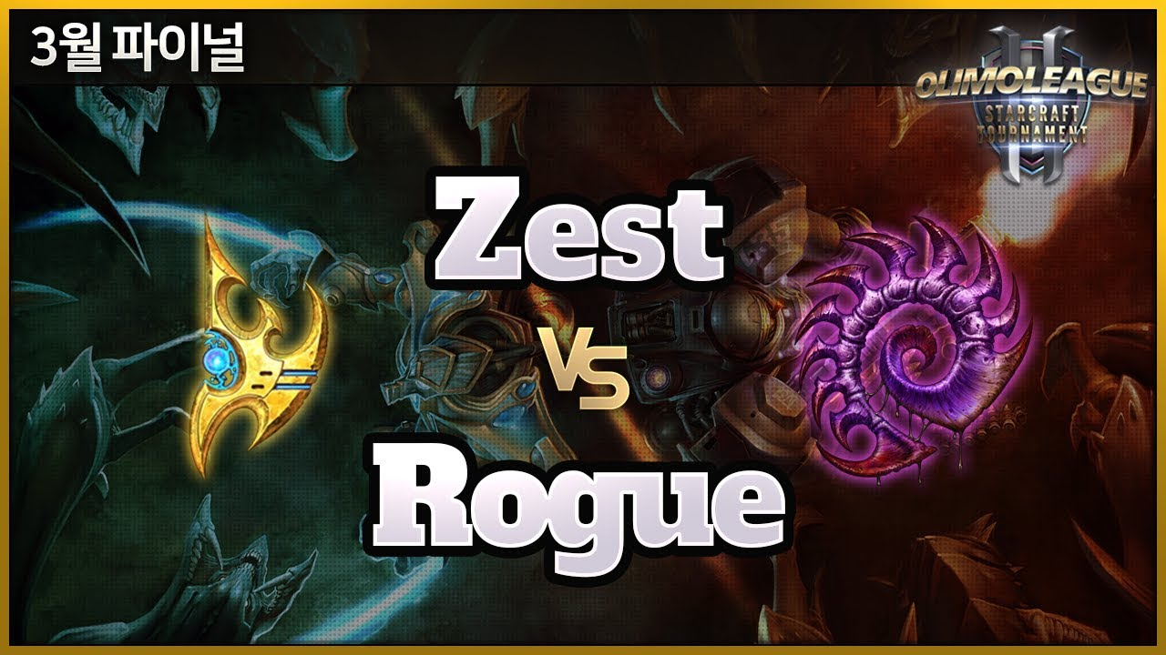 Zest vs Rogue - OlimoLeague Monthy Finals - March 2019