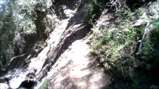 part 1 - Colby Canyon Trail descent to Strawberry Meadow & beginning of Strawberry Peak Trail