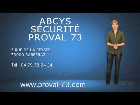 ABCYS SECURITE - PROVAL 73 Alarmes, Automatismes à Chambéry