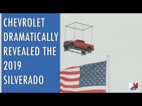 Chevrolet Dramatically Revealed The 2019 Silverado