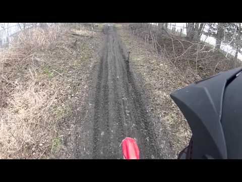 2013 Honda CRF230f out for a rip