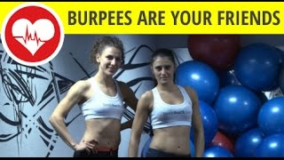 Cardio workout at home - a little bit of burpees, a little bit of jumps - part 2