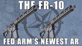 """Fedarm FR-10 16"""" Flat Top Carbine,7.62x51 / .308 Win Caliber - 15"""" Free Float M-Lok Rail W / 1-20 Round Mag"""