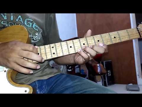 terlalu lama (Vierratale) guitar solo tutorial