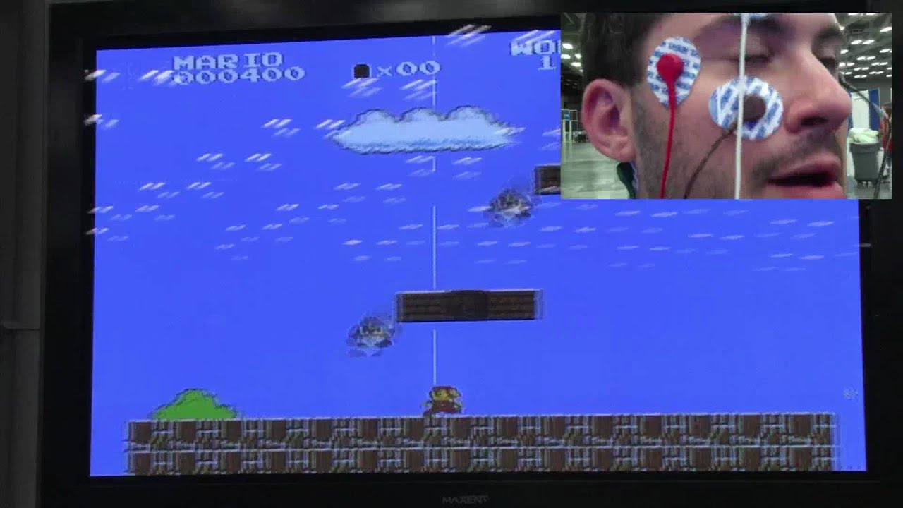 Modded Nintendo Lets You Play Mario With Your Eyes, Poorly