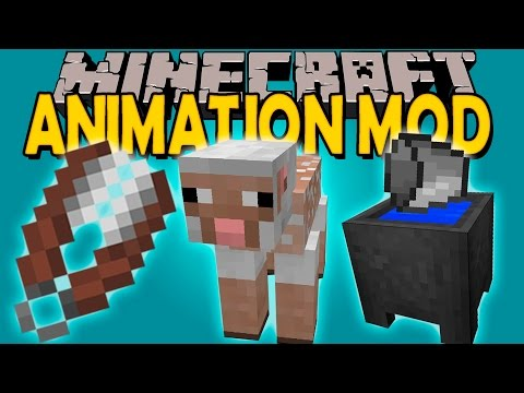 AUGMENTED INTERACTIONS MOD - Animaciones EPICAS! - Minecraft mod 1.11.2 Review