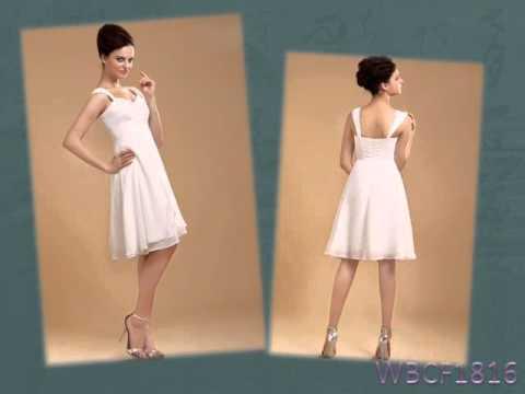 Kurz oder Knielang   Brautkleider 2016