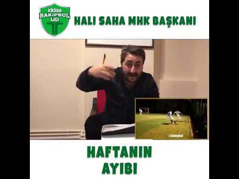 Halı sahaların MHK Başkanı Arif Sevimli ile haftanın ayıbı!