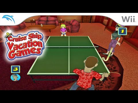 Cruise Ship Vacation Games | Dolphin Emulator 5.0-9717 [1080p HD] | Nintendo Wii