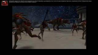 Warhammer 40,000: Dawn of War Soulstorm захват базы Тау.