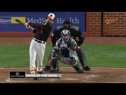 4/7/17: Smith's clutch homer lifts O's past Yankees
