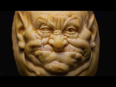 Unbelievable Jack-o-lanterns Carvings for Halloween