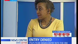 News Center discussion:  Matatu ban from the CBD and its effects Part 1
