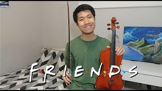 The Rembrandts (Friends) - I'll Be There For You [Violin Cover]