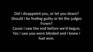 James Blunt   Goodbye My Lover (Lyrics)