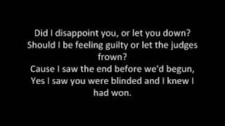 James Blunt - Goodbye My Lover (Lyrics)