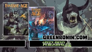 Game Geeks #273 Fantasy Age Basic Rulebook and Bestiary by Green Ronin