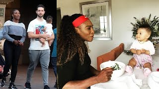 Serena Williams's Family - 2018 {Husband Alexis Ohanian & Daughter Alexis Olympia Ohanian Jr}