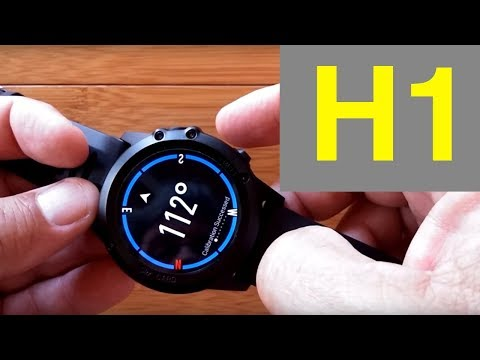 Microwear H1 Android Smartwatch: Unboxing & 1st Look