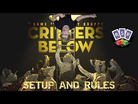 Critters Below Setup and Rules - Ready Steady Play