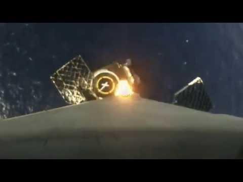 hqdefault - El Falcon 9 vuelve a aterrizar en una barcaza en el mar