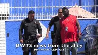 Dancing with the Stars security don't play around!  Phamous AKM-GSI 2015
