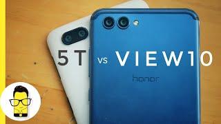 Honor View10 vs OnePlus 5T Camera Comparison
