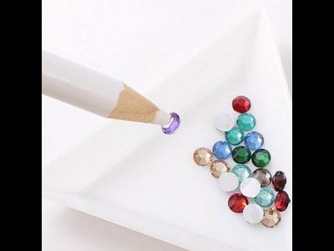 Como hacer Lápiz de cera / Lápiz para cristales / Como hacer un lápiz para uñas