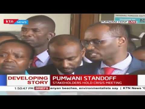 Pumwani Standoff: Health CS calls for investigation