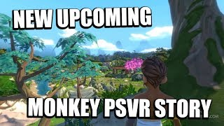 PSVR - New Upcoming Engaging Monkey Storytelling PSVR Game! (Monkey King PSVR)