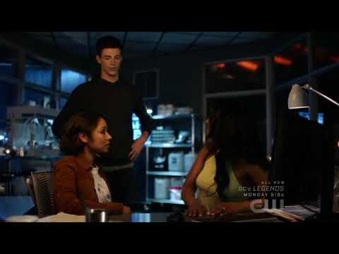 Flash season 5 episode 2 Barry&Nora vs Block