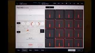 iMPC Pro Sampling from iTunes on your iPad.