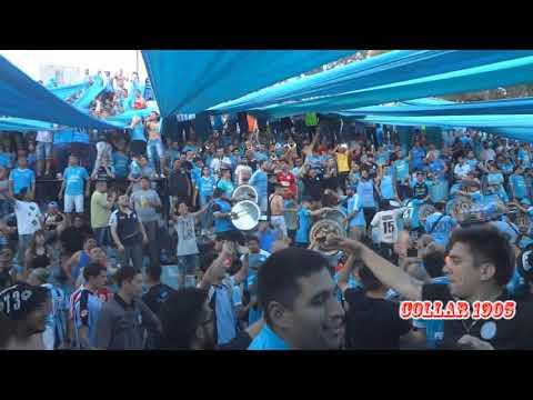 """""""VAS A MORIR, VAMO A QUEMAAA, BARRIO JARDIN..."""" Barra: Los Piratas Celestes de Alberdi • Club: Belgrano"""