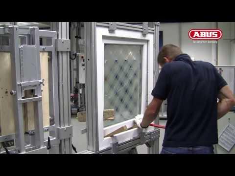 Aufbruchversuch Fenster 2016 ABUS Fenstersicherung
