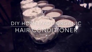 Easy DIY 100% Natural Hair Conditioner And Body Cream Tutorial
