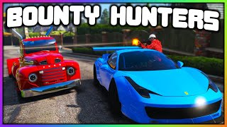 GTA 5 Roleplay - BOUNTY HUNTERS CHASE ME FOR $100K | RedlineRP