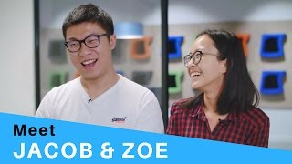 Meet Jacob & Zoe - Studying in Sydney with assistance from IDP Education.