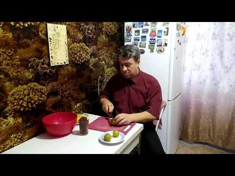 Быстрый салат из Зеленых помидор