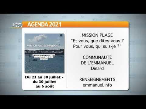 Agenda du 2 juillet 2021