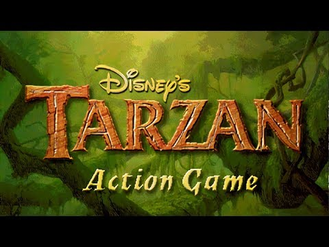 Tarzan Action Game (PC) Full 100% Walkthrough